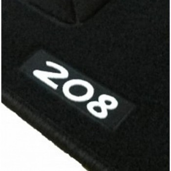 Tappetini logo Peugeot 208 ibrida