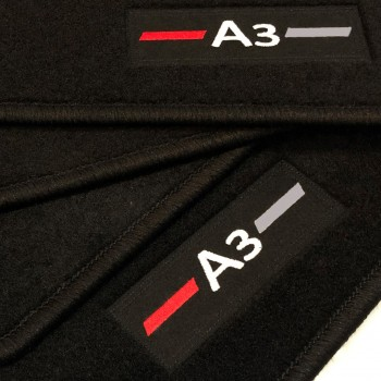 Tappetini Audi A3 8VA Sportback (2013 - adesso) logo