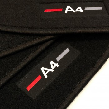 Tappetini logo Audi A4 B9 Restyling (2019 - adesso)