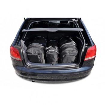 Kit valigie su misura per Audi A3 8P Hatchback (2003 - 2012)