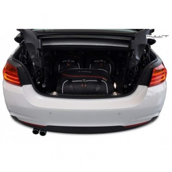 Kit valigie su misura per BMW Serie 4 F33 Cabriolet (2014 - adesso)