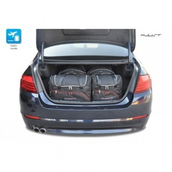 Kit valigie su misura per BMW Serie 5 F10 Restyling berlina (2013 - 2017)