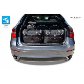 Kit valigie su misura per BMW X6 E71 (2008 - 2014)