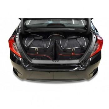 Kit valigie su misura per Honda Civic berlina (2017 - adesso)