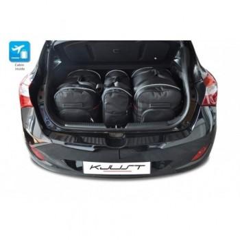 Kit valigie su misura per Hyundai i30 5 porte (2012 - 2017)