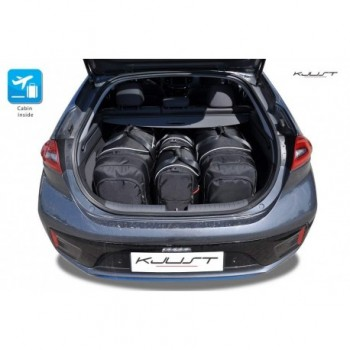 Kit valigie su misura per Hyundai Ioniq elettrico (2016 - adesso)