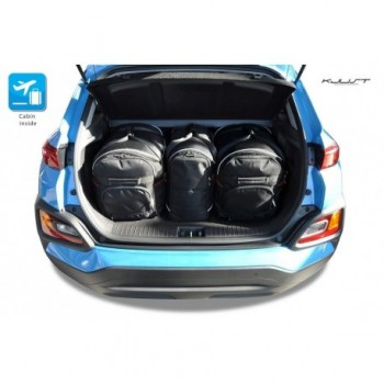 Kit valigie su misura per Hyundai Kona SUV (2017 - adesso)