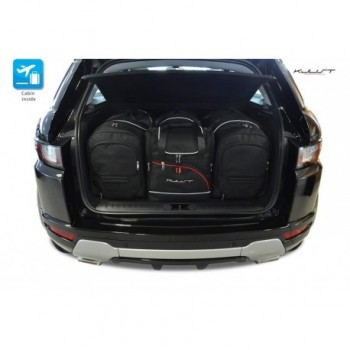 Kit valigie su misura per Land Rover Range Rover Evoque (2015 - 2019)