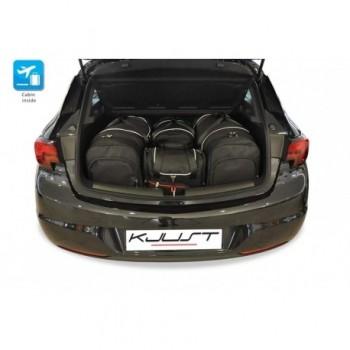 Kit valigie su misura per Opel Astra K 3 o 5 porte (2015 - adesso)
