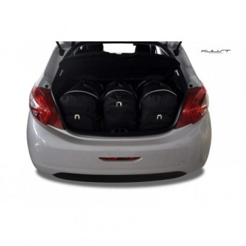Kit valigie su misura per Peugeot 208