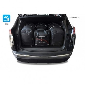 Kit valigie su misura per Peugeot 3008 (2016 - adesso)