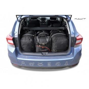 Kit valigie su misura per Subaru Impreza (2018 - adesso)