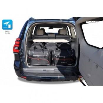 Kit valigie su misura per Toyota Land Cruiser 150 lungo Restyling (2017 - adesso)