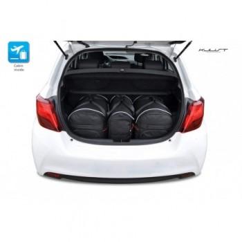 Kit valigie su misura per Toyota Yaris 3 o 5 porte (2011 - 2017)