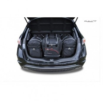 Kit valigie su misura per Honda Civic 3/5 porte (2006 - 2012)