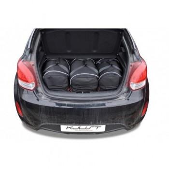 Kit valigie su misura per Hyundai Veloster