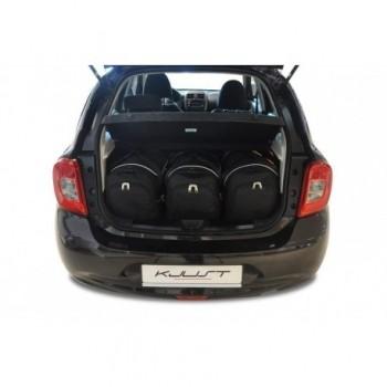 Kit valigie su misura per Nissan Micra (2011 - 2013)