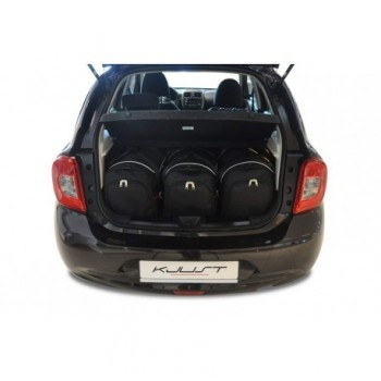 Kit valigie su misura per Nissan Micra (2013 - 2017)