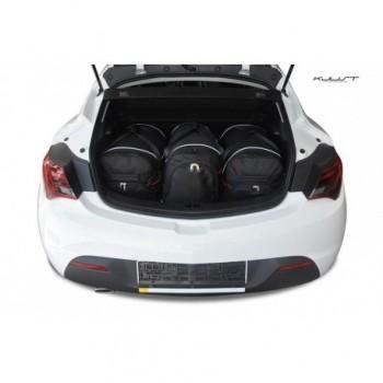 Kit valigie su misura per Opel Astra J, 3 porte (2009 - 2015)