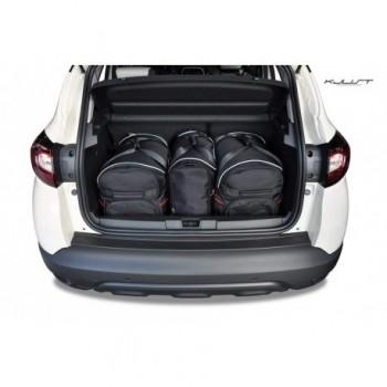 Kit valigie su misura per Renault Captur Restyling (2017 - adesso)