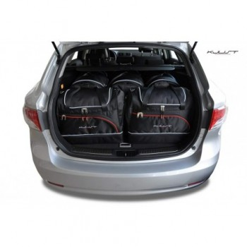 Kit valigie su misura per Toyota Avensis Touring Sports (2012 - adesso)