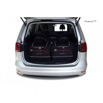 Kit valigie su misura per Volkswagen Sharan 5 posti (2010 - adesso)