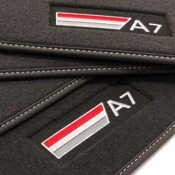 Tappetini Audi A7 (2017-adesso) velluto S-line