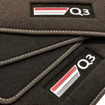 Tappetini Audi Q3 velluto logo (2011-2018)