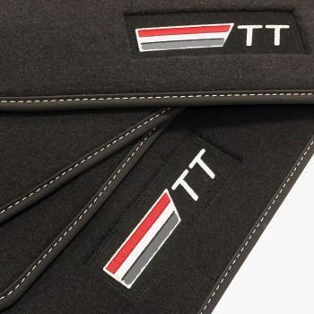 Tappetini Audi TT 8N (1998 - 2006) velluto logo