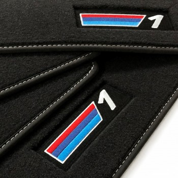 Tappetini BMW Serie 1 E81 3 porte (2007 - 2012) velluto M Competition