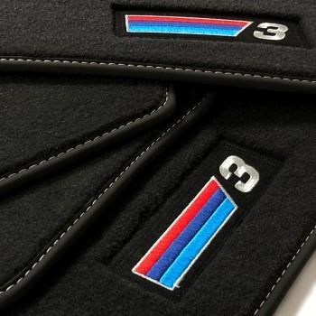 Tappetini BMW Serie 3 E93 Cabrio (2007 - 2013) velluto M Competition