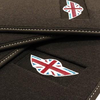 Tappetini Mini Coupé velluto logo Mini