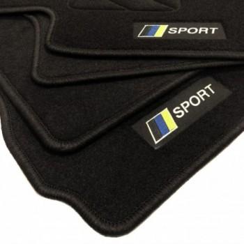 Tappetini bandiera Racing Chevrolet Captiva 5 posti (2006 - 2011)