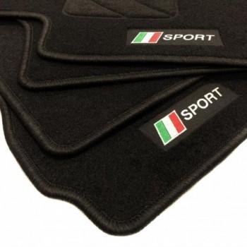 Tappetini bandiera Italia Fiat Punto Abarth Evo 3 posti (2010 - 2014)