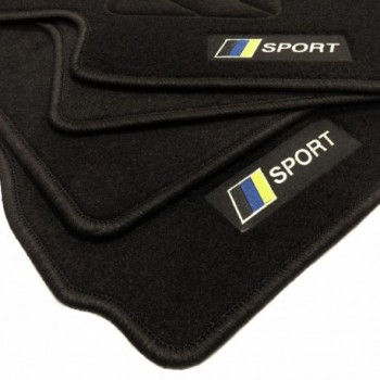 Tappetini bandiera Racing Mitsubishi Grandis 6 Seggiolino (2004 - 2011)