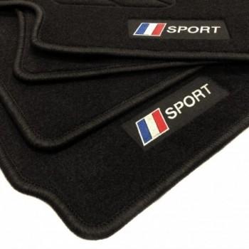 Tappetini bandiera Francia Peugeot 107 (2009 - 2014)