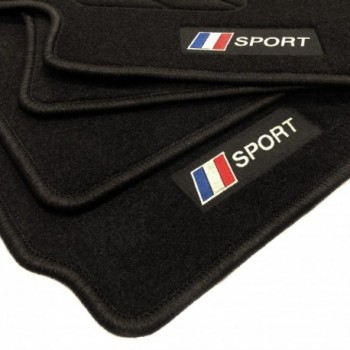 Tappetini bandiera Francia Peugeot 307 3 o 5 porte (2001 - 2009)