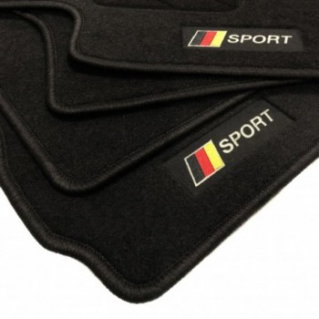 Tappetini bandiera Germania Porsche Boxster 982 (2016 - adesso)