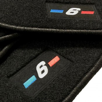 Tappetini BMW Serie 6 GT logo