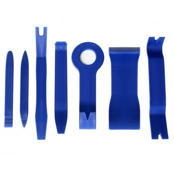 Kit di attrezzi per lo smontaggio dell'auto (punti metallici, plastica, pannelli, soffitti)
