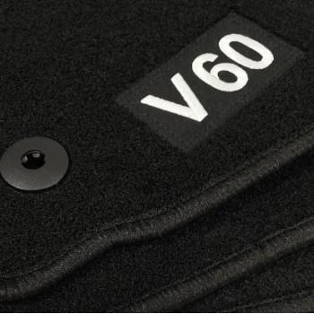 Tappetini Volvo V60 (2010 - 2018) come Logo