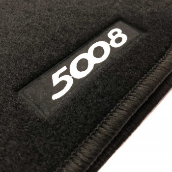 Tappetini Peugeot 5008 5 posti (2017 - adesso) logo