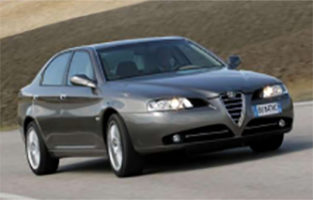 Tappetini Alfa Romeo 166 (2003 - 2007) economici