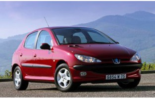 Tappetini Peugeot 206 (1998 - 2009) Excellence