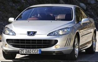 Protezione di avvio reversibile Peugeot 407 Coupé (2004 - 2011)