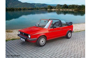 Tappetini Volkswagen Golf 1 Cabrio (1979 - 1993) Excellence